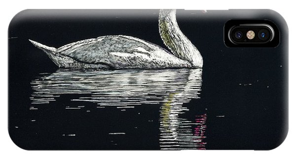 Nino's Swan Phone Case by Robert Goudreau