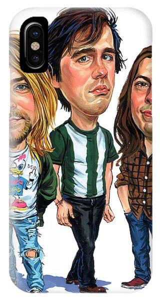Nirvana Phone Case by Art