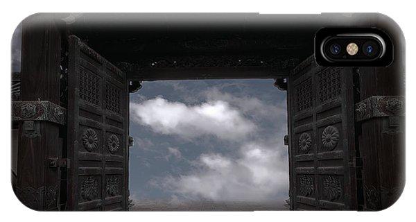 Achievement iPhone Case - Nirvana Gate by Daniel Hagerman