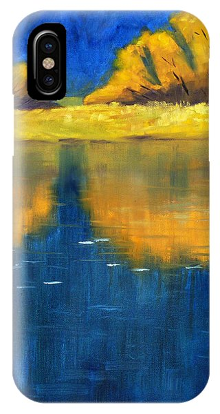 Small Business iPhone Case - Nisqually Reflection by Nancy Merkle