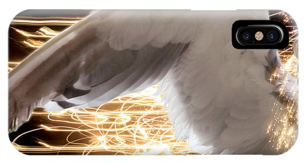 Nissrine An Angels Radiance IPhone Case