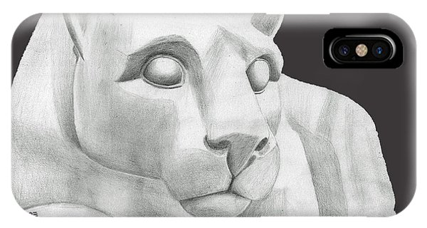 Nittany Lion Statue IPhone Case