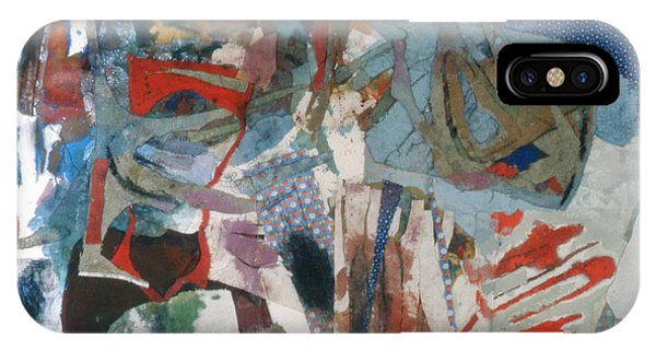 No 3 In A Series Of Assemblages IPhone Case