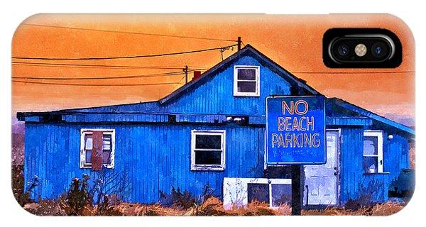 No Beach Parking IPhone Case