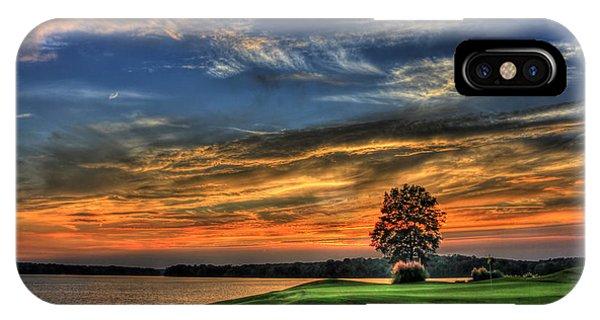 No Better Day Golf Landscape Art IPhone Case