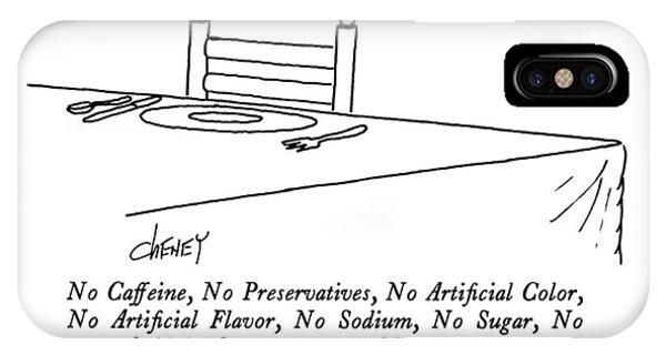 No Caffeine IPhone Case