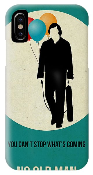 For iPhone Case - No Country For Old Man Poster 2 by Naxart Studio