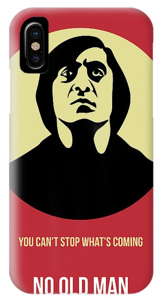 For iPhone Case - No Country For Old Man Poster 3 by Naxart Studio