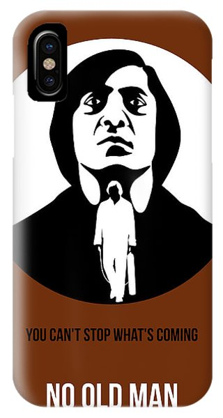 For iPhone Case - No Country For Old Man Poster 4 by Naxart Studio