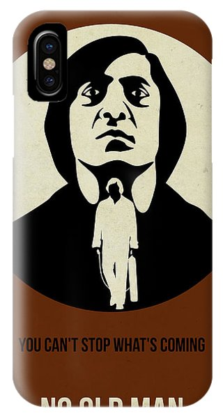 For iPhone Case - No Country For Old Man Poster by Naxart Studio