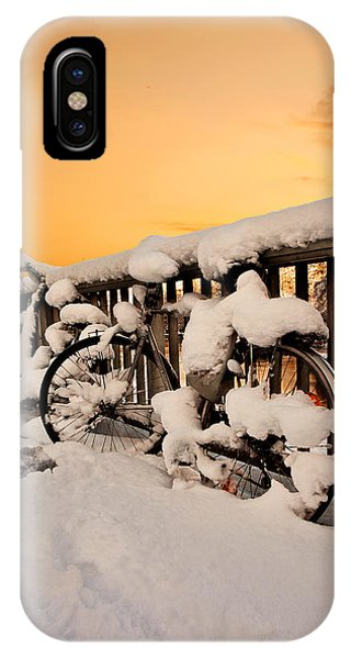 No Cycling Today IPhone Case