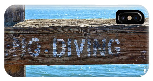 No Diving IPhone Case