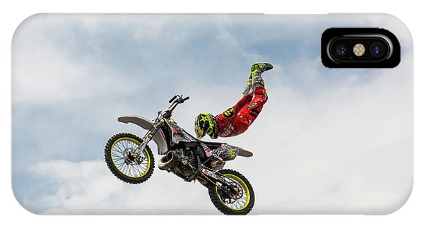 Pose iPhone Case - No Hands Superflyer by Mircea Vlasceanu