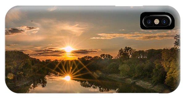 Mississippi Sunset Double Starburst IPhone Case