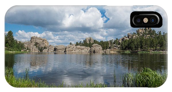 Sylvan Lake South Dakota IPhone Case