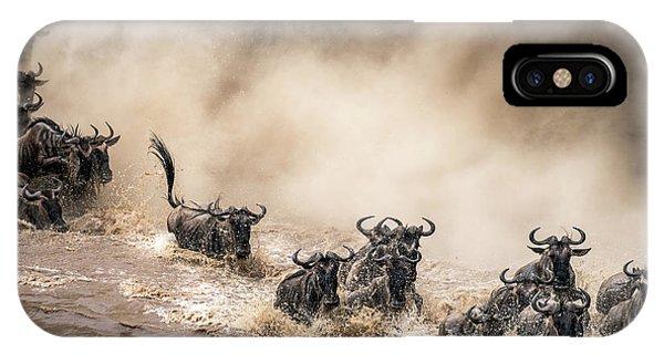 Action iPhone X Case - No Matter What... by Henrike Scheid