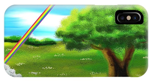 Treeline iPhone Case - No More Rain by Shana Rowe Jackson