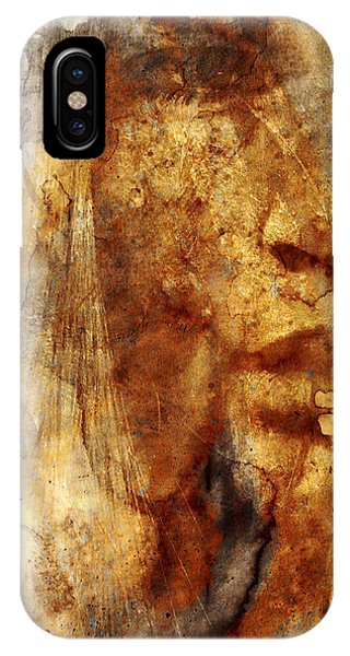 Layered iPhone Case - No Name Face by Marian Voicu