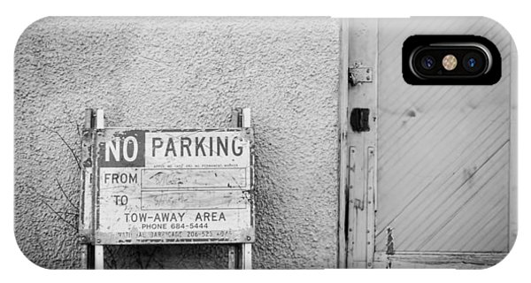 No Parking IPhone Case
