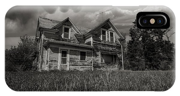 Abandoned Houses iPhone Case - No Place Like Home by Aaron J Groen