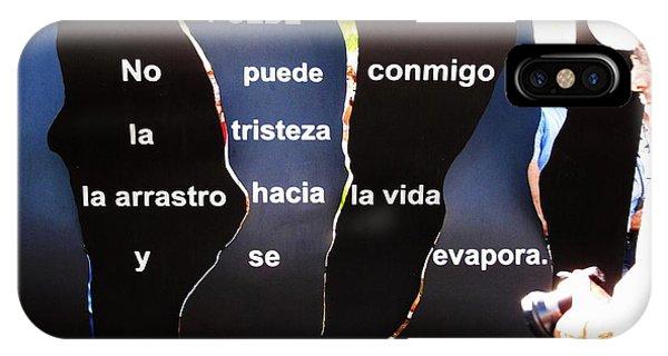 No Puede By Claribel Alegria IPhone Case