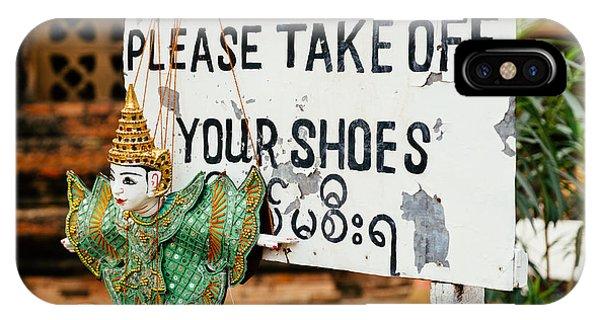 No Shoes IPhone Case