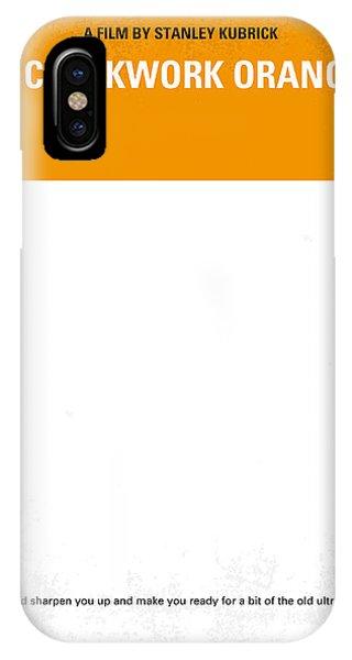 No002 My A Clockwork Orange Minimal Movie Poster IPhone Case