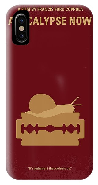 No006 My Apocalypse Now Minimal Movie Poster IPhone Case