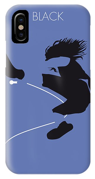 Pearl Jam iPhone Case - No008 My Pearl Jam Minimal Music Poster by Chungkong Art