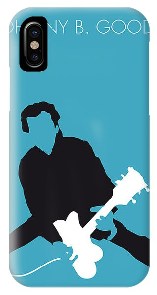 No015 My Chuck Berry Minimal Music Poster IPhone Case