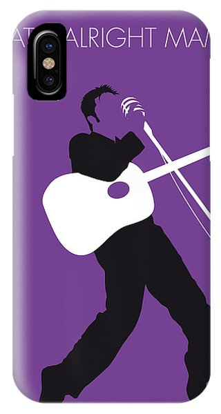 Design iPhone Case - No021 My Elvis Minimal Music Poster by Chungkong Art