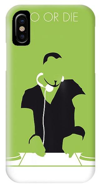 Mtv iPhone Case - No026 My Afrojack Minimal Music Poster by Chungkong Art