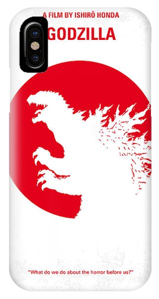 New York iPhone Case - No029-2 My Godzilla 1954 Minimal Movie Poster.jpg by Chungkong Art