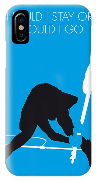 Or iPhone Case - No029 My The Clash Minimal Music Poster by Chungkong Art