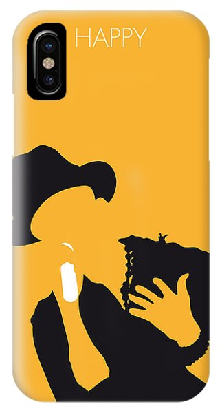 Happy iPhone Case - No034 My Pharrell Williams Minimal Music Poster by Chungkong Art