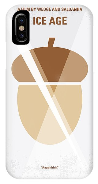 Ice iPhone Case - No041 My Ice Age Minimal Movie Poster by Chungkong Art