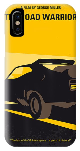 No051 My Mad Max 2 Road Warrior Minimal Movie Poster IPhone Case