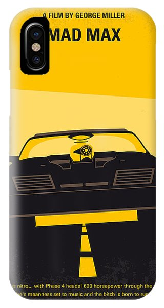 No051 My Mad Max Minimal Movie Poster IPhone Case