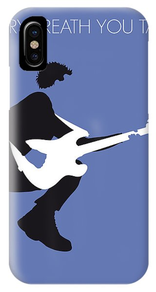 Guitar iPhone Case - No058 My The Police Minimal Music Poster by Chungkong Art