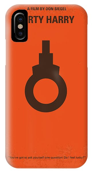 No105 My Dirty Harry Movie Poster IPhone Case