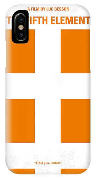 No112 My Fifth Element Minimal Movie Poster IPhone Case