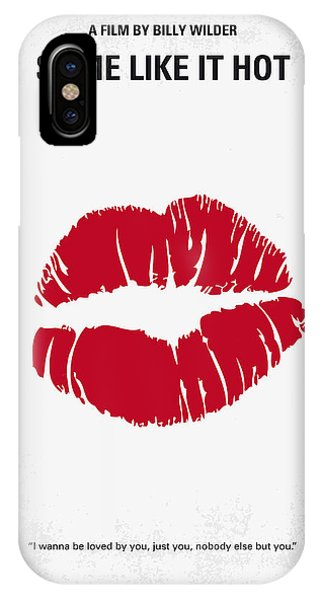 American iPhone Case - No116 My Some Like It Hot Minimal Movie Poster by Chungkong Art