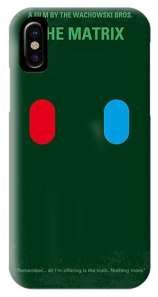 No117 My Matrix Minimal Movie Poster IPhone Case