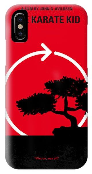No125 My Karate Kid Minimal Movie Poster IPhone Case