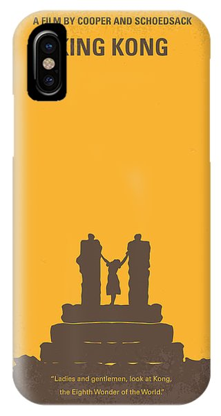No133 My King Kong Minimal Movie Poster IPhone Case