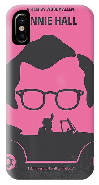 New York iPhone Case - No147 My Annie Hall Minimal Movie Poster by Chungkong Art