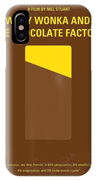 The iPhone Case - No149 My Willy Wonka And The Chocolate Factory Minimal Movie Poster by Chungkong Art