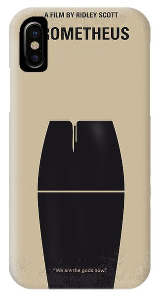 Aliens iPhone Case - No157 My Prometheus Minimal Movie Poster by Chungkong Art