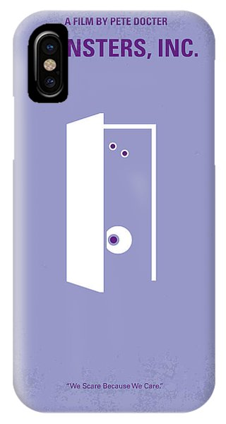Cyclops iPhone Case - No161 My Monster Inc Minimal Movie Poster by Chungkong Art