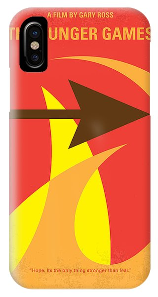 No175 My Hunger Games Minimal Movie Poster IPhone Case
